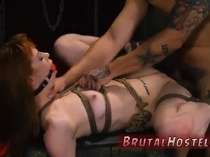 wife punished anal bondage