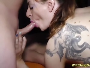 extreme sex at birthday party