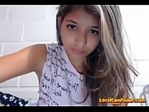 young teens dancing on web cam