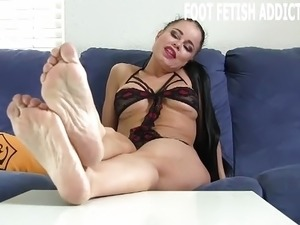 amateur foot fetish videos