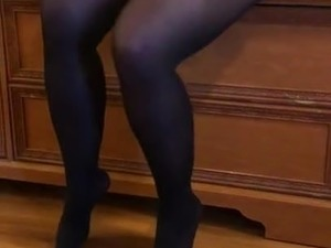 pantyhose in pussy