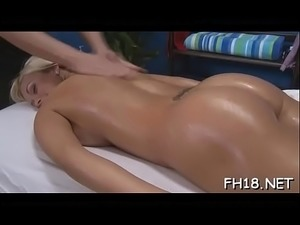 Fleshly oil massage