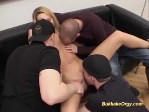 Group sex orgie