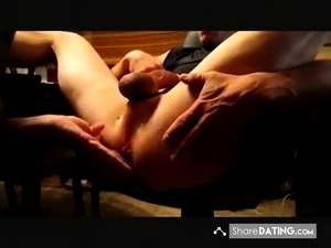 wife anal prostate message