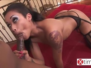 ebony get deep anal
