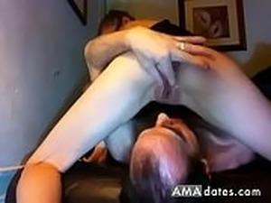 pussy licking cuckold