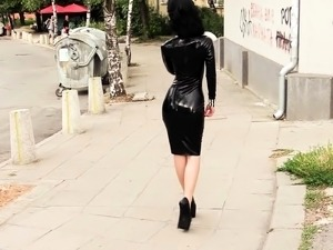latex shemale movies