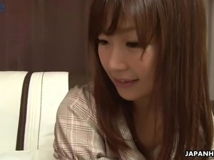 Japanese slut Shino Tanaka is highly into sucking delicious lollicocks of dudes