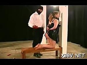 bdsm tortured forced sex ebony milking