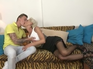 grannie and young boy free galleries