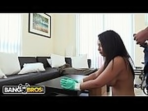 chubby anal maid ass