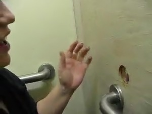 glory hole sex suck